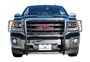 Grille protectors.
